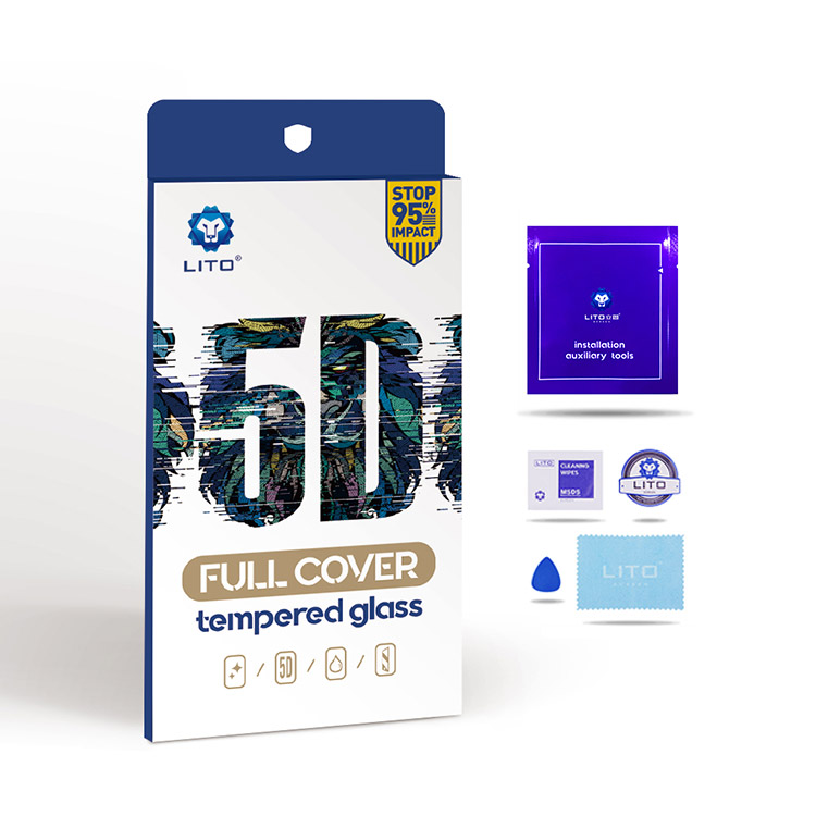 iphone xs 5d tempered glass screen cover