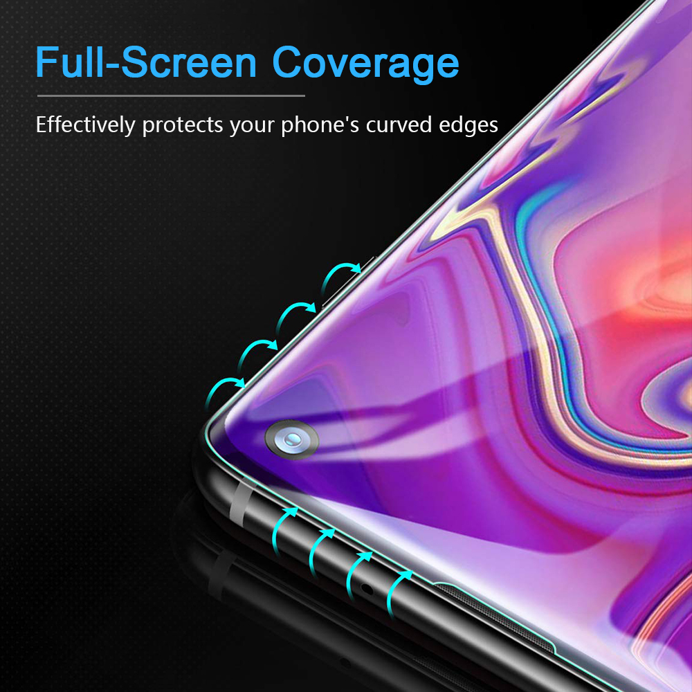 samsung galaxy s10 full screen coverage screen protector