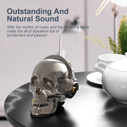 V7 Skull Portable Wireless Speaker
