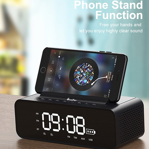 V06 Bluetooth Speaker With FM Radio