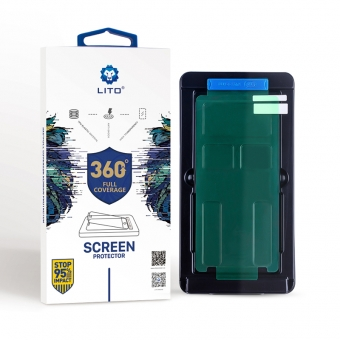 Samsung Note 8/9 Nano Shockproof TPU-Displayschutz mit Applikator